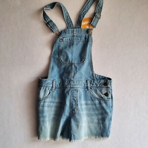 Gymboree overall shorts size 10 blue color