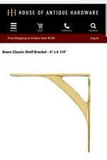 Superior Brass Shelf Bracket 03124 Size 150x160mm 2 pcs.