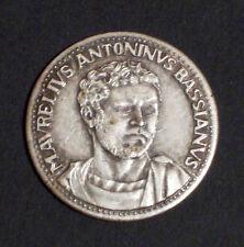 MEDAGLIA - M. AURELIUS ANTONINUS BASSIANUS - LE GRANDI FIGURE DI ROMA - 1980