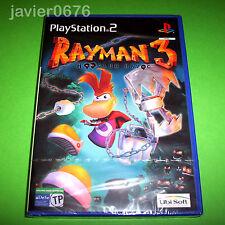 Rayman 3 Hoodlum Havoc de Ubisoft para la Sony Play Station 2 PS2 en buen estado