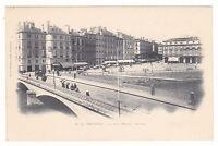 CPA  Pyrénées Atlantiques 64 - Bayonne - Le pont Mayou