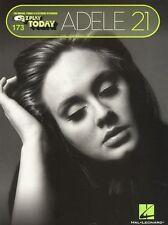 Adele 21 VERY EASY EZ KEYBOARD ORGAN PIANO Beginner Childrens Kids Music Book