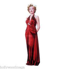 Marilyn Monroe, Red Dress, Lifesize Standup, Cardboard Cutout # 316- 2221