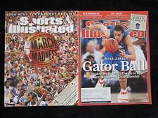 LOT OF 2 FLORIDA Gators Sports Illustrated Magazines JOAKIM NOAH & 06 Preview