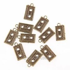 40pcs Radio Tape Cassette Charm Fit Necklace Penant Dangle 41583 Chic New
