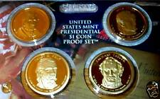 2009 S PRESIDENTIAL 1$ - 4 COIN PROOF SET-9TH THRU 12TH PRESIDENTS IN MINT MYLAR