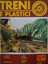 Treni e Plastici n°8 1979 Locomotiva 690 in H0 - Segnale lampeggiante - Diorama