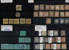 ITALIAN STATES: 1852-1868 Used & Unused Examples - 7 Stock Cards (35668)