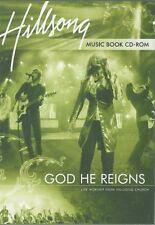 Hillsong -God He Reigns - Music Book CD-Rom