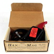 Vintage Han D Mag Model 10 Double Ended Probe Tape Deck Demagnetizer in Box 115v