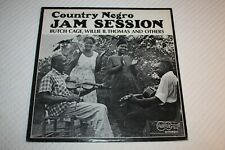 Country Negro Jam Session, 1969 vinyl, LP, Arhoolie Records ‎– cat #2018