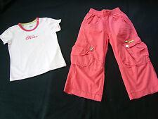 Kookai ? Mädchenset DESIGNERSET Sommerhose + Shirt Bluse ? Sommer ? 4 A ? Gr.104