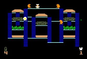 BurgerTime for Intellivision no box