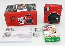 Fuji Instax Mini 70 rouge + cartouche 10 vues
