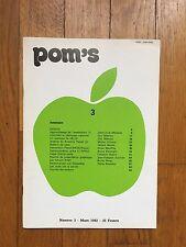 POM'S : Numéro 3 - La revue francophone des utilisateurs de l'Apple