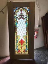 Beautiful Custom Stained Glass Entry Doors - Jhl161