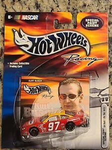 2002 #97 Kurt Busch Little Tikes Rubbermaid 1/64 Hotwheels NASCAR Diecast