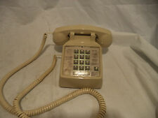 Premier  HAC 2500 Ivory Desk Push Button Touch Tone Telephone corded Vintage