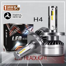 TURBO SII 2-side H4 9003 LED Headlight Bulbs High Low Beam Halogen Bulbs