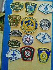 Souvenir Collection of  Police Patches