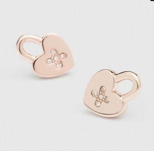 MIMCO Lovelock Stud Stud Earrings Rose Gold • RRP$49.95