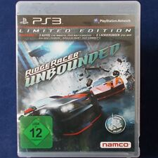 PS3 - Playstation ► Ridge Racer Unbounded - Limited Edition ◄ dt. Version