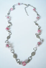 T1 Premier Designs Jewelry First Blush Necklace in Pink RV$58