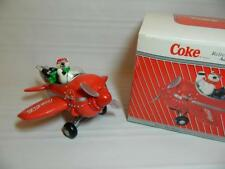 Coca Cola Refreshment In The Air Polar Bear in Airplane Musical Action Coke New