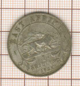 East Africa One Shilling 1925 Silver Georges V