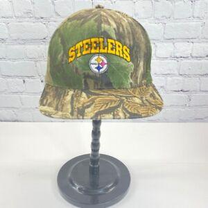 Realtree Pittsburgh Steelers NFL Camouflage Baseball Cap Adjustable Snapback