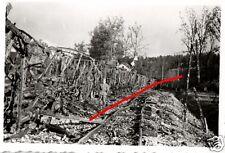 11733/Original Photo 9x6cm, zerbombter train, railway tracks, Verm. France