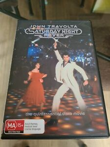 Saturday Night Fever - John Travolta - DVD - Region 4 Quintessential Disco Movie