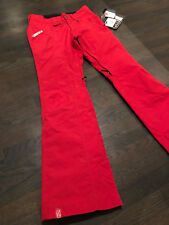 BONFIRE ECHO WOMENS PANT INSULATED-RED - SIZE XSMALL (FREE SHIPPING USA)