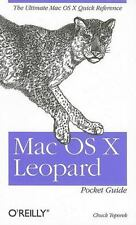NEW - Mac OS X Leopard Pocket Guide: The Ultimate Mac OS X Quick Reference Guide
