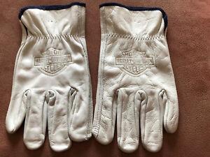 Harley Davidson Branded Leather Gloves XL