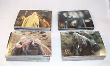 THE LORD OF THE RINGS TRILOGY  Complete Card Set   Topps Chrome   LotR