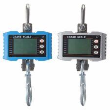 1000kg 1T 2000LBS Digital Crane Hanging Scale Heavy Duty Industrial LCD Display