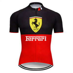 Mens Cycling Jersey Bib Short Bicycle Bike Motocross MTB Shirt Team Top Clothes