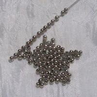 RINBE8 Perles rondelles lisses 8mm trou 5,6mm en Argent 925//1000 Réf