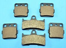 YAMAHA Grizzly 660 YFM660F Front & Rear Brake Pads For 2002-2008