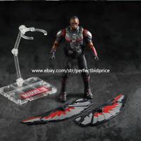 New Sam Wilson Falcon Marvel Avengers Legends Comic Heroes Action Figure Toys