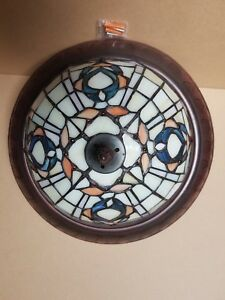 Edel Tiffany Lampe Tiffanylampe Deckenlampe Decken Lampe GN 195