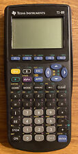 Texas Instruments Ti-89 Graphing Calculator With Cover, Manual, Cd, Usb Cable