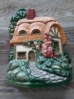 """Vintage """"Farmer's  Cottage"""" Princeton Gallery 1991 CAST IRON HANDCRAFTED TIAWAN"""