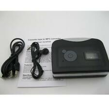 Portable USB Cassette Audio Music Player Tape-To-MP3 Converter with Earphone