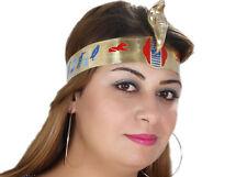 Pharaonen-Krone mit Intarsien - Tut Anch Amun Karneval Fasching- Kopfschmuck