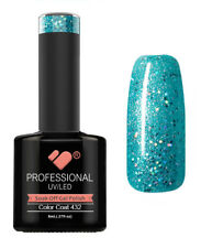 432 VB™ Line Blue Green Glitter - UV/LED soak off gel nail polish