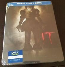 IT (2017) Blu-ray + DVD + Digital Copy Best Buy Limited Edition STEELBOOK