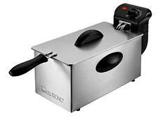 FRIGGITRICE INOX ELETTRICA PROFESSIONALE CLATRONIC FR 3586 VASCA 3L FRITTURA 3
