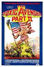 Toxic Avenger 2 Poster 01 Metal Sign A4 12x8 Aluminium